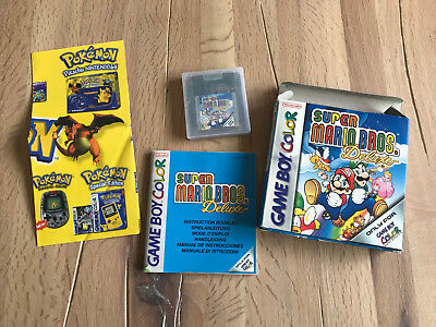 Super Mario Bros Deluxe Gameboy Color NINTENDO