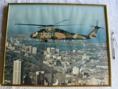 Helicopter Sikorsky S-70 Helicopter A25-102 Australian ARMY Large Framed Photo