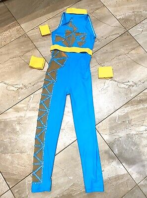 Dance Costume Acro Catsuit U12 Worn Once! Freestyle