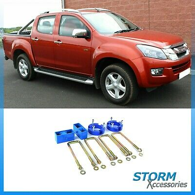 Isuzu Chevrolet D-max Dmax RT50 2012 to 2015 32 mm Shock Adapter Lift Up Kit