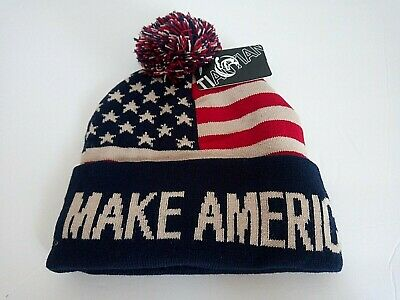 MAGA 2020 Make America Great Again Donald Trump Winter Hat Beanie