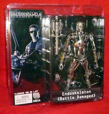 Arnold Schwarzenegger TERMINATOR 2 Judgement Day T-800 ENDOSKELETON Figure NECA