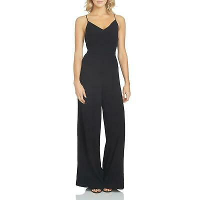 1.State Womens Black Lace-Up Wide Leg Daytime Jumpsuit 8 BHFO 4499
