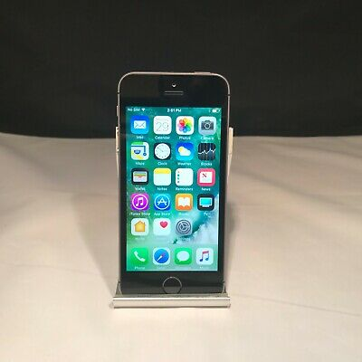 Apple iPhone SE 32GB Space Gray Unlocked Excellent Condition - Back Cracked