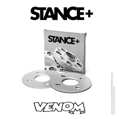 Stance+ 4mm Alloy Wheel Spacers (4x100) 57.1 BMW 3 Series (1983-1991) E30