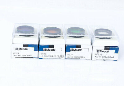 "Meade 1.25"" CRGB Interference CCD Imaging Filter set - boxed"