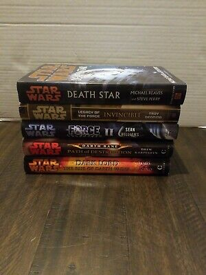 Star Wars Book Lot Of 6 Hardcover