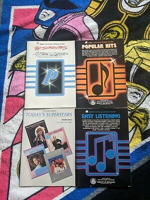 4 Vintage CASIO Rom Pack Book Guides - FREE USA SHIPPING
