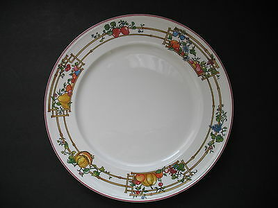 "Villeroy & Boch MON JARDIN Luncheon Plate 9 5/8""   Mfg defect on bottom"