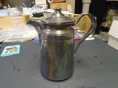 Antique Reed & Barton Silver Plate Water Pitcher, Solid, Original, BARGAIN!