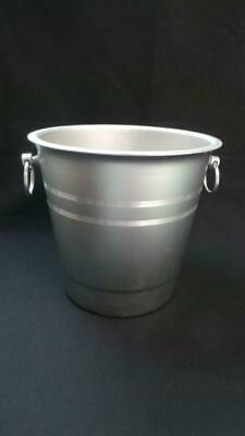 Fabulous Anodised Aluminium Ice Bucket With Ring Handles