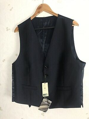 Marks & Spencer Size L Pure New Wool Savil Row Tailored Fit Blue BNWT