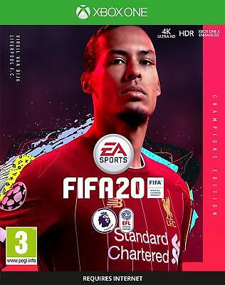 FIFA 20 Champions Edition Xbox One DIGITAL DOWNLOAD (NO DISC)