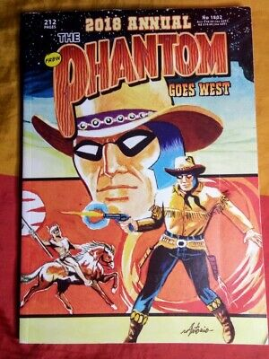 The Phantom No. 1802 - 2018 Annual: Goes West - 212 Pages (Frew, 2018)