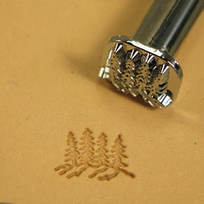 Pine Trees 2-D Stamp F110