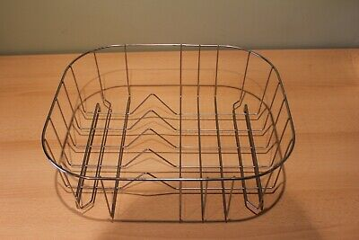 DISH DRAINER & SINK PROTECTOR or WASH BOWL IN STAINLESS STEEL