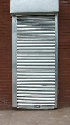 Galvanised Electric Shutter, suit opening 1600 w x 1900 h, with Hood