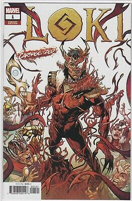 Loki #1 Sliney Carnage-Ized Variant Marvel Comics Nm