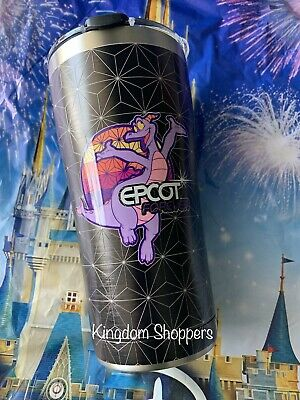 2019 Disney Parks New Epcot Forever Tervis Water Bottle Featuring Figment