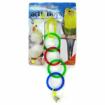 LM JW Insight Olympic Rings Bird Toy