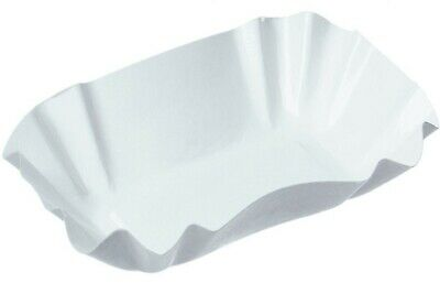 1000x KU1 Bowl of Chips 11x19, 5x3, 2 cm Paper Tray Curry Sausage Takeaway Grill