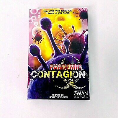 Pandemic Contagion Board Game Z-Man Games - New Contents Unsealed Box