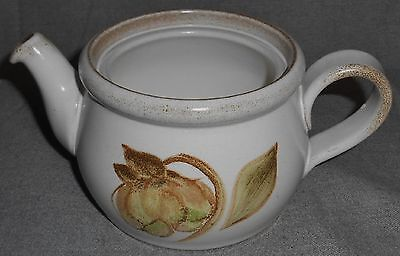 Denby TROUBADOUR PATTERN Two Cup Teapot BASE ONLY Made in England