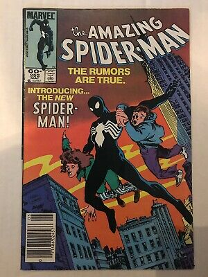 the Amazing Spider-man 252 1st Black Suit In Title