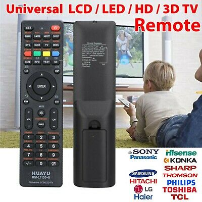 Universal Replacement Remote Control for Sony SoniQ Samsung TV Smart LED LCD TV