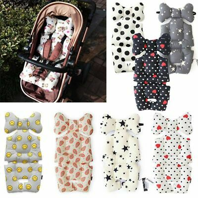 Baby Stroller Seat Pad Cotton Soft Car Cushion Infant Child Mattress Mat Trolley