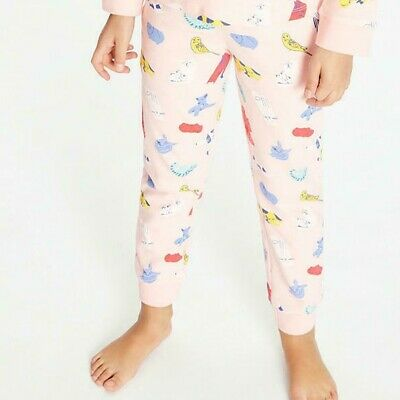 John Lewis & Partners Girls' Pet Print Pyjama Bottoms / Pink 9 Years New
