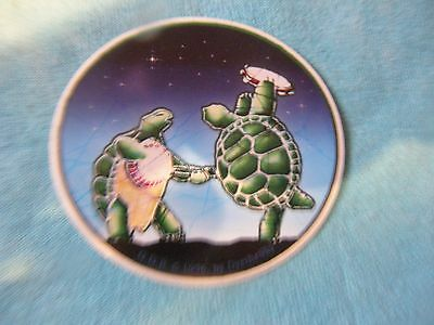 Grateful Dead Dancing Terrapins Banjo Tambourine MINI 2.5 Inch Sticker