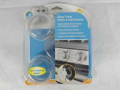 Safety 1st Stove Knob Covers Clear View Set of 5 Brand New in Packaging Kids c05