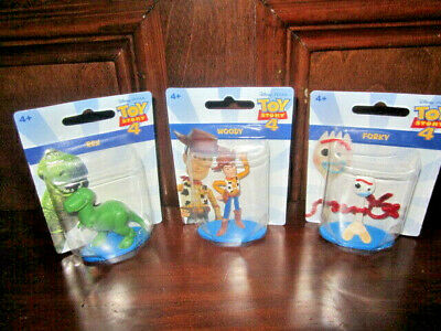 MATTEL Disney Toy Story 4 Collectible Figure Cake Topper NEW