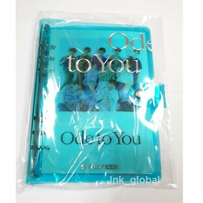 Seventeen Ode To You 2019 World Tour Goods Trading Photo Card Photocard Binder