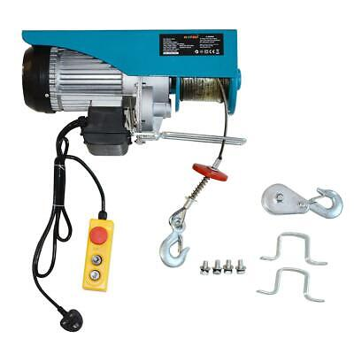 181315 Scaffolding Winch Electric Workshop Garage Gantry Hoist 1000kgs 1600W