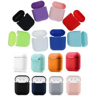 1Pc Silicone airpods case protect cover skin earphone charger cases iaPTUKT ZSHW