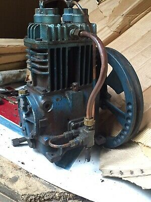 Quincy 210 Air Compressor Pump And Flywheel