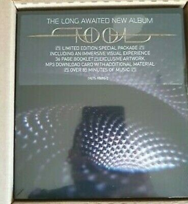 """Tool Fear Inoculum Limited Edition CD 4"""" Screen new sealed inc.outer postal box"""