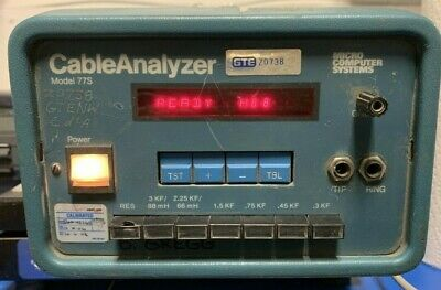 Micro Computer Systerms CABLE ANALYZER MODEL 77S