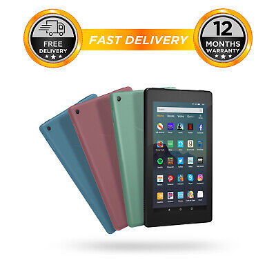 Amazon Kindle Fire 7 Tablet with Alexa 16GB LATEST 2019 MODEL 9th generation