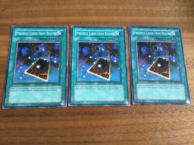 3x Precious Cards from Beyond DCR-038 YuGiOh Card
