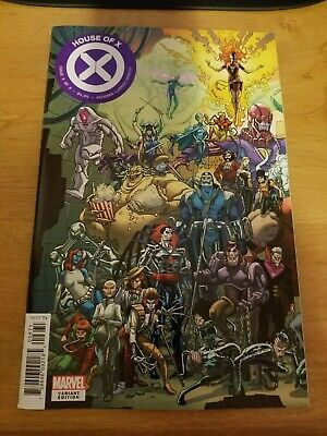 HOUSE OF X #6 (Marvel Comics 2019) Powers GARRON CONNECTING COVER VARIANT