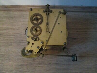 Smiths Westminster Chimes Striking Mantel Clock Movement