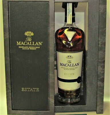 1 x The MACALLAN ♦ ESTATE ♦ 70 cl, 43% ♦ LIMITED  2019 ♦ Gift Box
