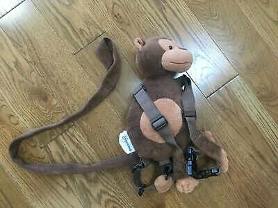 USED Monkey Toddler Safety Harness Children's Walking Leash Strap