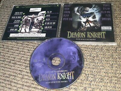 Tales from the Crypt Demon Knight Soundtrack CD Pantera Sepultura Megadeth METAL