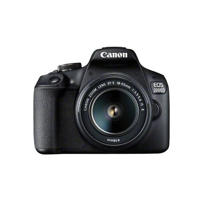 Canon EOS 2000D / Rebel T7 with 18-55mm IS II Lens
