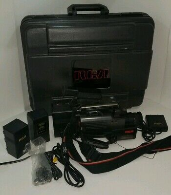 **Tested ** RCA VHSC Camcorder With Hardcase And Accessories