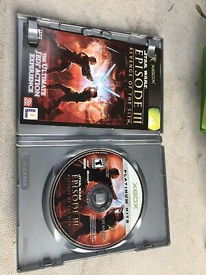 Star Wars Episode III 3 Revenge of the Sith Microsoft Xbox  100% Complete Game